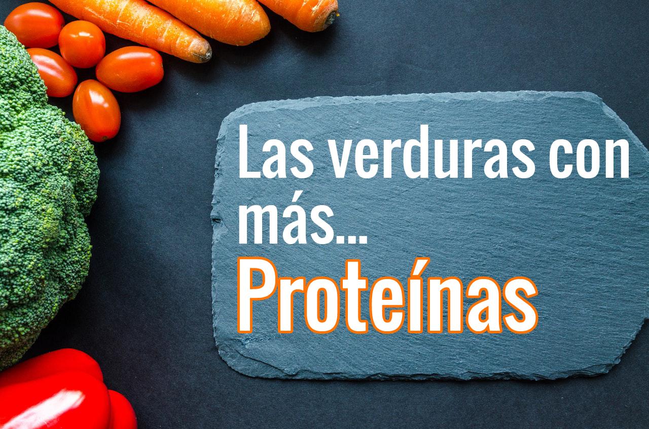 Las verduras con más proteínas